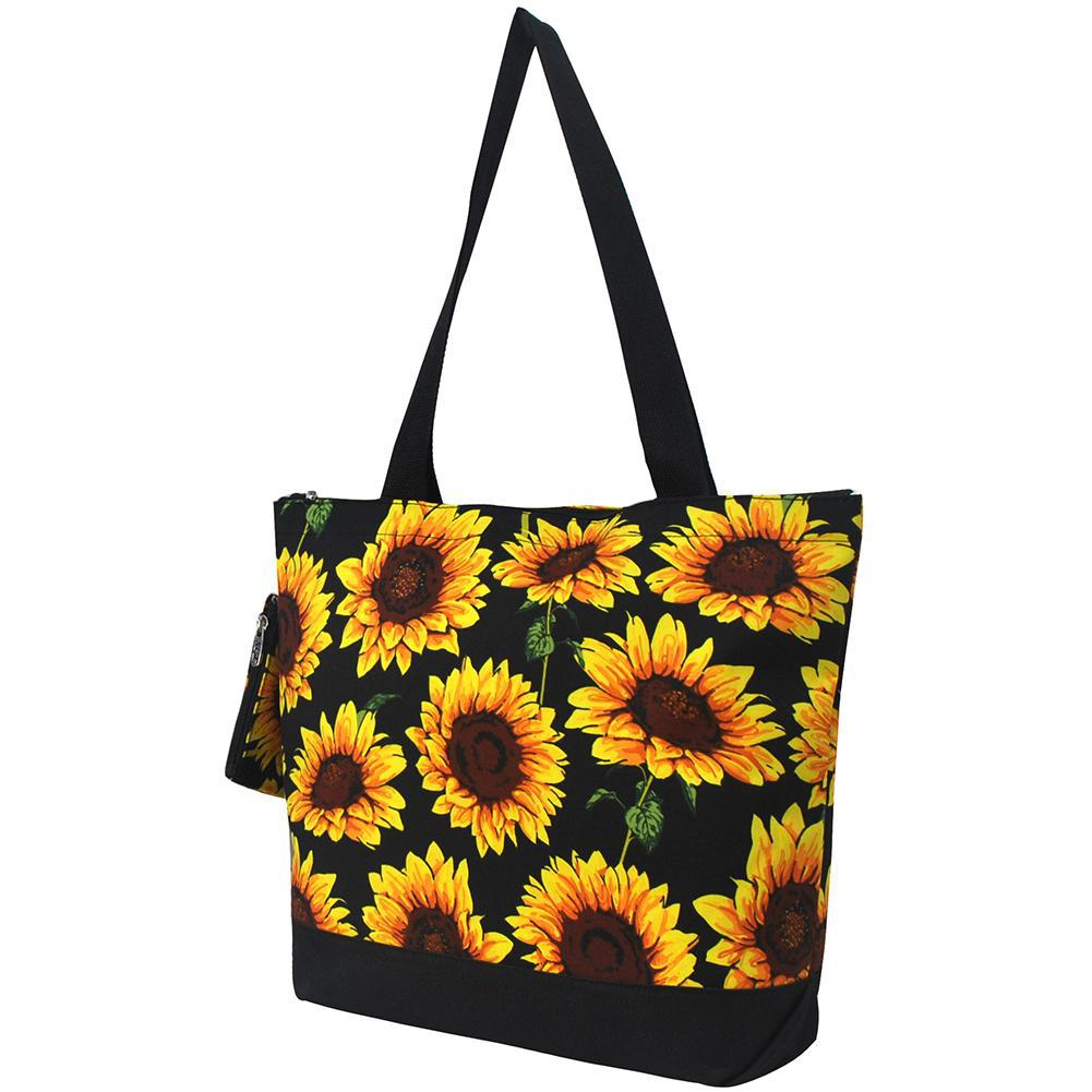 Sunflower NGIL Canvas Tote Bag