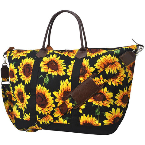 Sunflower NGIL Large Weekender Bag