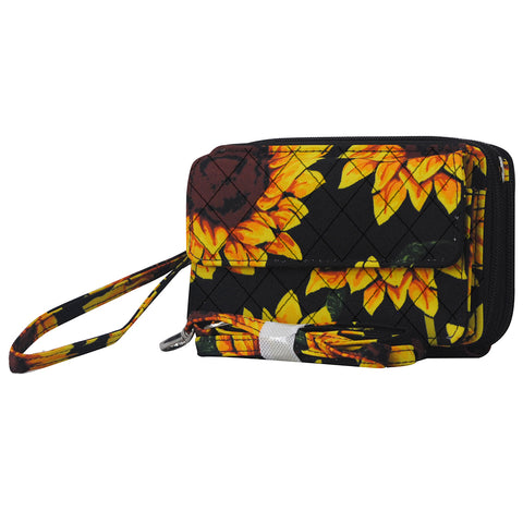 Sunflower NGIL Quilted All In One Wallet