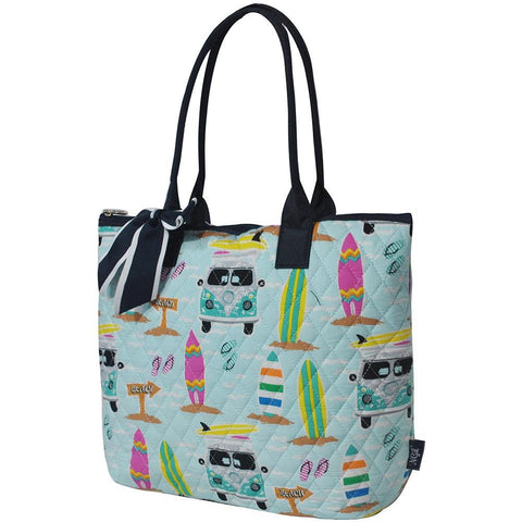 Surf Beach NGIL Quilted Tote Bag