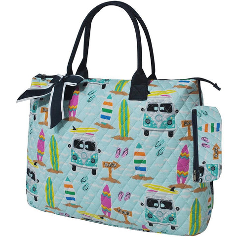 Surf Beach NGIL Quilted Overnight Tote Bag
