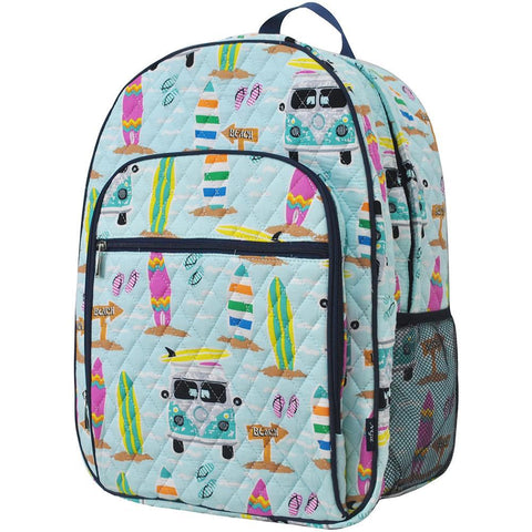 Surf Beach NGIL Quilted Large School Backpack
