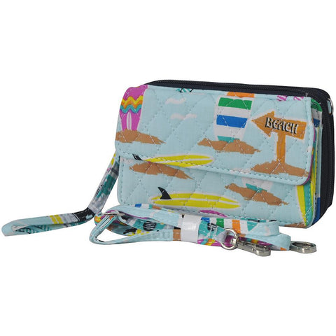 Surf Beach NGIL Quilted All In One Wallet