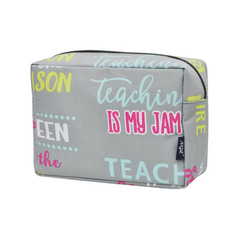 Inspiring Teacher NGIL Large Cosmetic Travel Pouch