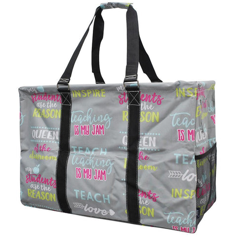 Inspiring Teacher NGIL Mega Shopping Utility Tote Bag