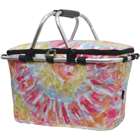 Tie Dye NGIL Insulated Market Basket