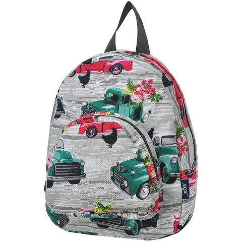 southern vintage truck small backpacks, southern vintage truck mini backpacks, Small backpack for boys, mini backpack for kids, small canvas backpack with money zipper, mini canvas backpack brown, small backpack for teen girls, small backpacks for boys, mini backpack purse for teen girls, mini backpacks purses,