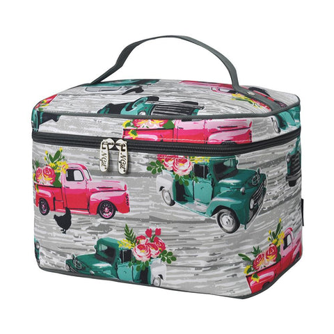 vintage truck makeup bags, vintage truck cosmetic bag, truck makeup bags, vintage makeup bag, vintage floral makeup bag, southern vintage truck cosmetic case, vintage cosmetic case, vintage cosmetic bag, Personalized cosmetic bag for sale, makeup bag large, makeup bag for teens for bridesmaids, makeup organizer case, travel makeup bags personalized, cosmetic pouches wholesale,