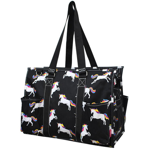 Unicorn NGIL Zippered Caddy Large Organizer Tote Bag