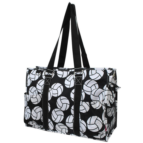 Volleyball NGIL Zippered Caddy Large Organizer Tote Bag