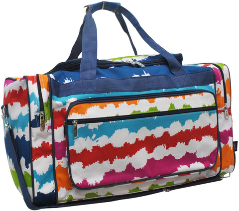 Travel Bag, Dance Bag, Preppy Monogram Bag, Personalized Duffel Bags Cheap, Cheer Duffle Bag, Road Trip Tote Bag, Weekender Bag Personalized, Weekend Bag Women Canvas, Travel Accessories, gym duffle bag, gift idea for her, gift idea for women, Rainbow duffle bag, colorful duffle bag.