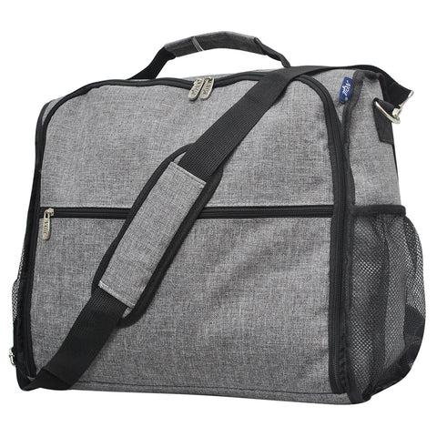 Crosshatch Gray NGIL Canvas Diaper Backpack