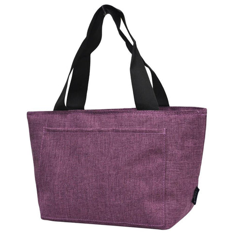 Crosshatch Cherry  NGIL Large Lunch Bag On-The-Go