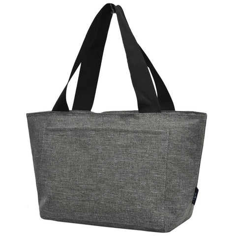 Crosshatch Gray NGIL Large Lunch Bag On-The-Go