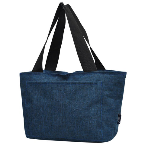 Crosshatch Navy NGIL Large Lunch Bag On-The-Go