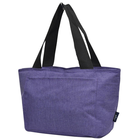 Crosshatch Purple NGIL Large Lunch Bag On-The-Go
