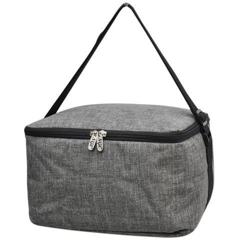 Crosshatch Gray NGIL Insulated Cooler Bag/Lunch Box