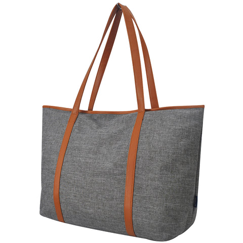 Gray Crosshatch NGIL All Day Tote Bag