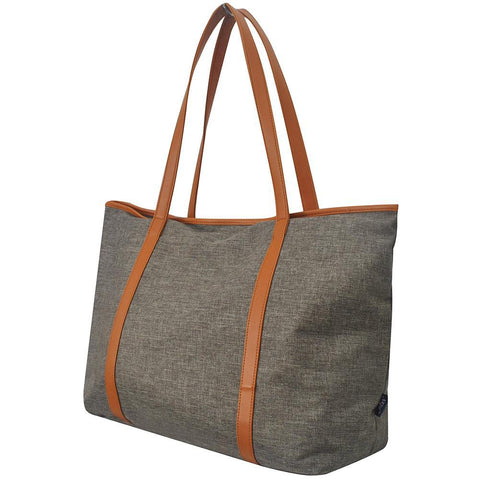 Khaki Crosshatch NGIL All Day Tote Bag