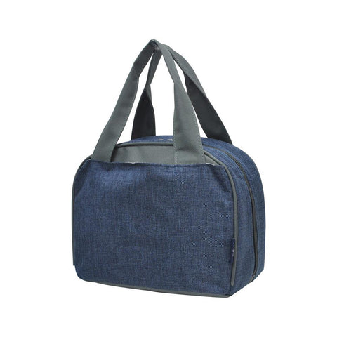 Crosshatch Blue NGIL Insulated Lunch Bag