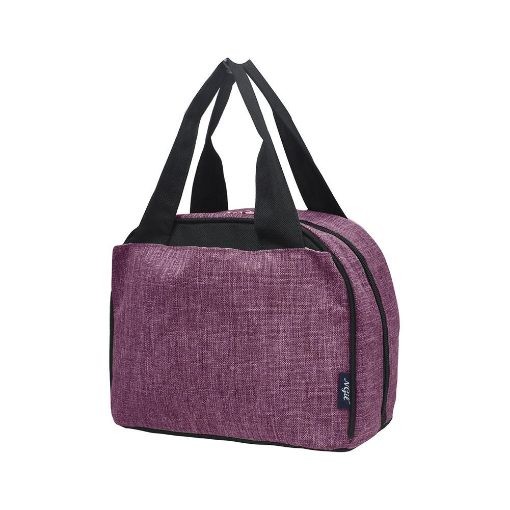 Crosshatch Cherry NGIL Insulated Lunch Bag