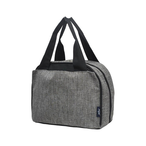 Crosshatch Gray NGIL Insulated Lunch Bag