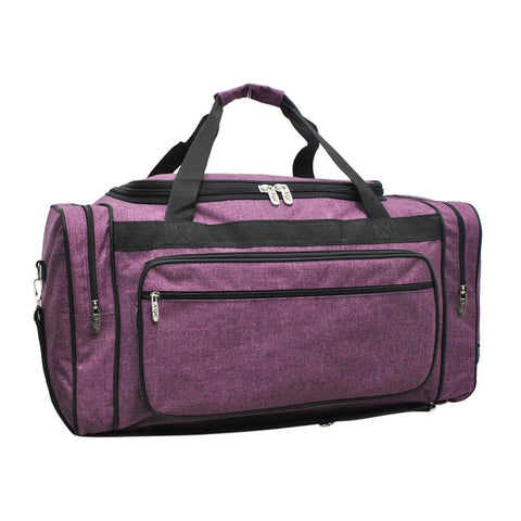 "Crosshatch Cherry NGIL Canvas 20"" Duffle Bag"