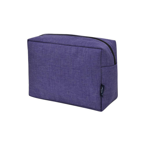 Cosmetic bags for travel, women's makeup bag set, makeup pouch for cheap, makeup gift idea, large monogram cosmetic bag, cosmetic organizer case, travel bags makeup artist, crosshatch makeup bag, crosshatch cosmetic cases, purple cosmetic bag