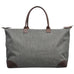 Crosshatch Gray NGIL Large Shopping Bag and Tote Bag