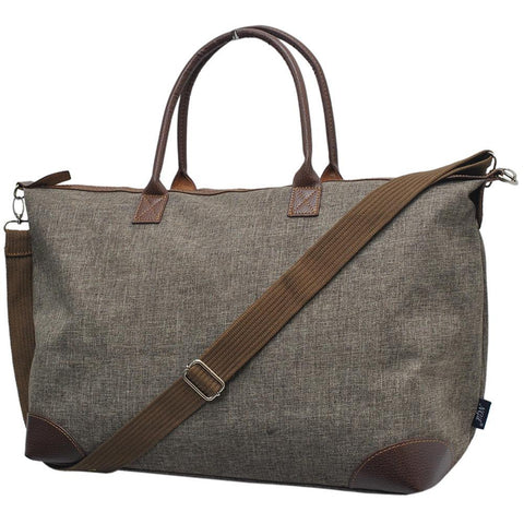 Crosshatch Khaki NGIL Large Shopping Bag and Tote Bag