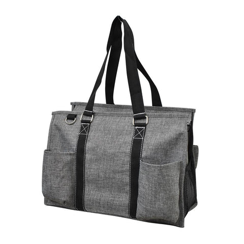 NGIL Brand, Personalized Travel Bag, monogram gift ideas, personalized accessories for mom, nurse tote organizer wholesale, gifts for mom, grey bag, crosshatch bag.