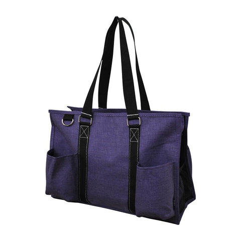 NGIL Brand, Gifts for teacher, monogram travel accessories, monogram tote for women zipper, monogram tote bags in bulk, nurse canvas tote, wholesale totes, tote bags, purple print, purple.