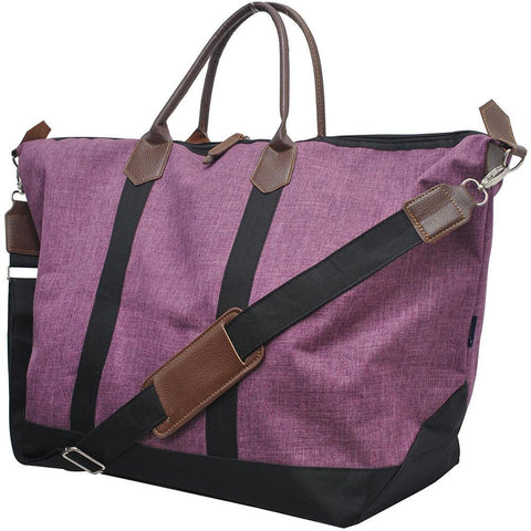 Crosshatch Cherry NGIL Large Weekender Bag