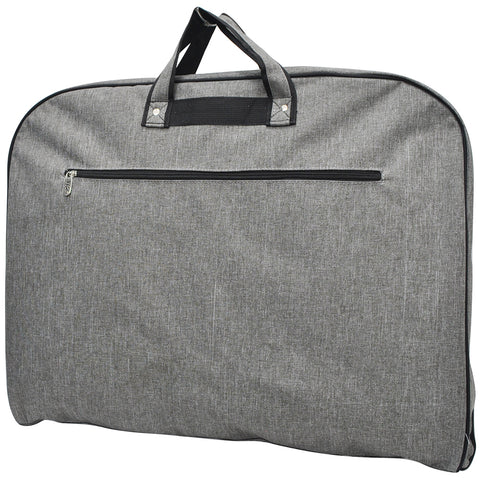 Crosshatch Gray NGIL Garment Bags