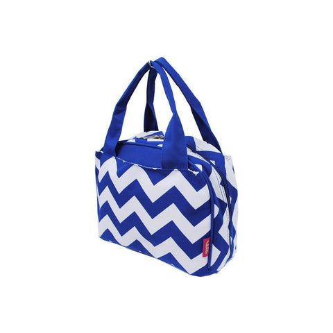 Color Chevron Royal NGIL Insulated Lunch Bag