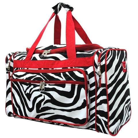 "Red Zebra NGIL Canvas 20"" Duffle Bag"