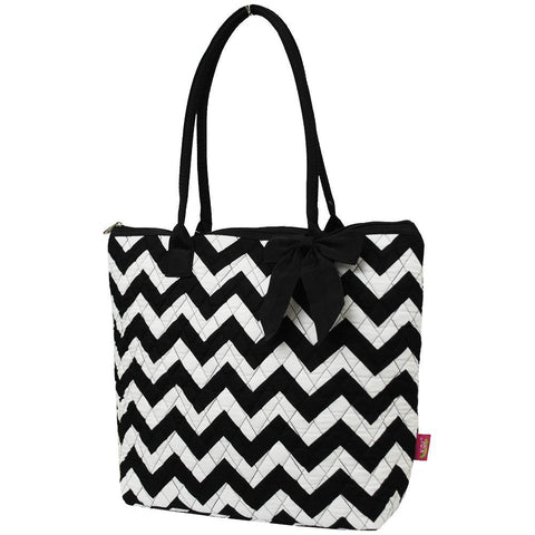 Chevron NGIL Quilted Tote Bag