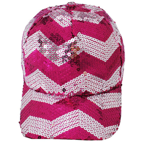 Sequined Chevron NGIL Hat