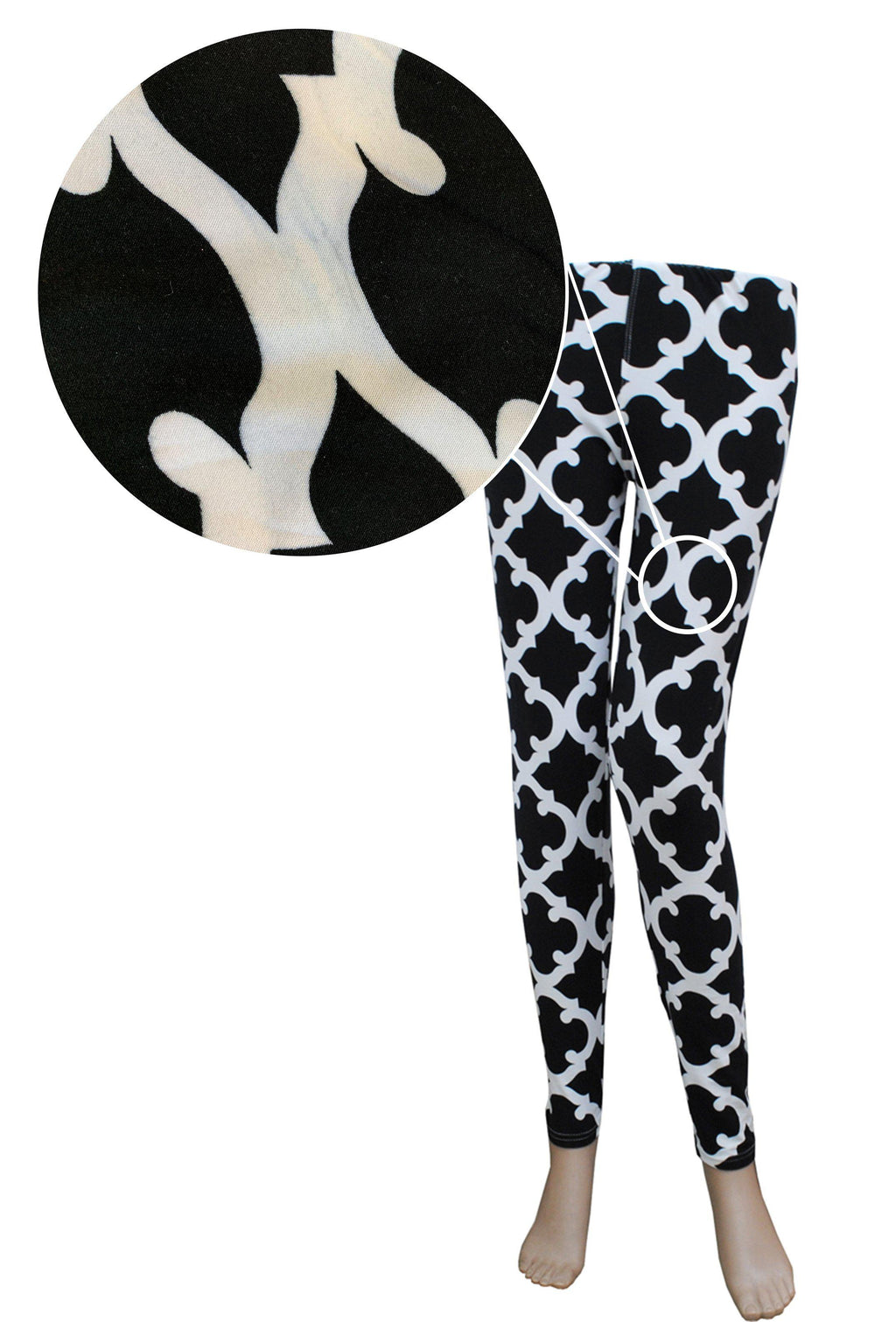 SALE! STAINED! Geometric Clover NGIL Fashion Leggings
