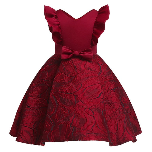 0f9adbaf29d92 Kids Dresses For Girls Wedding Dress Elegant Children Princess Evening  Party Dresses Toddler Flower Girls Dress vestido infantil
