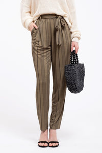 Neva Trouser Pants in Olive
