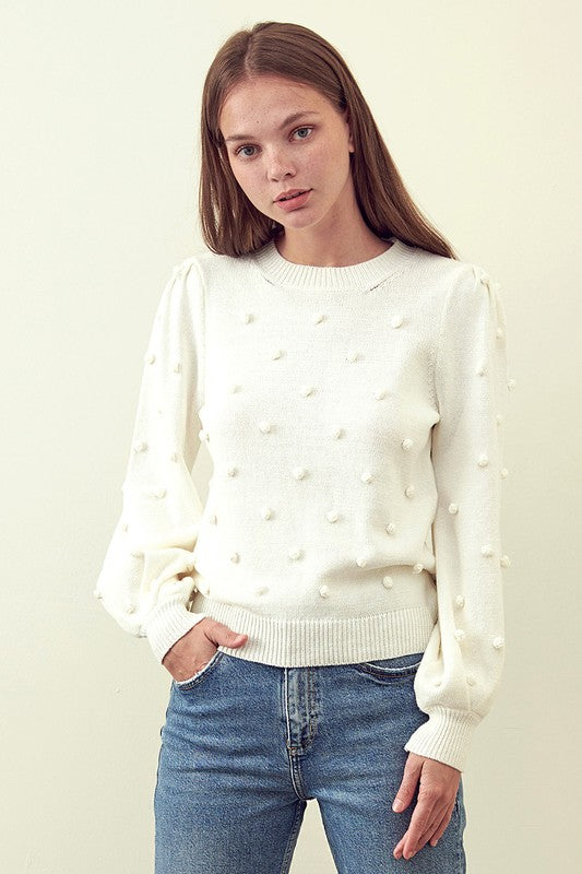 Alta Sweater in Ivory