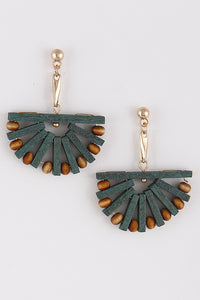 Sienna Earring in Teal