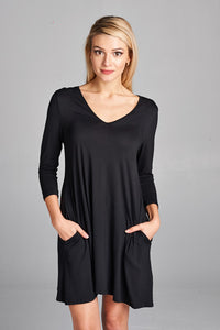 Juliette Dress in Black