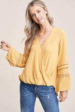 Candida Blouse in Mustard