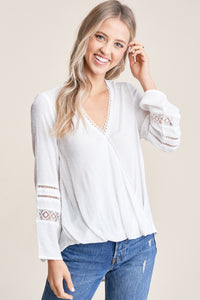 Candida Blouse in White