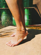 Five Coin Anklet