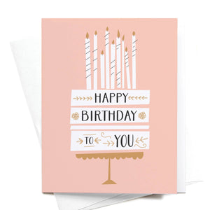 Greeting Card || Happy Birthday Candles