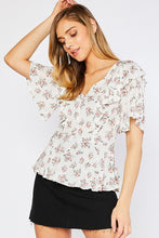Henni Floral Top