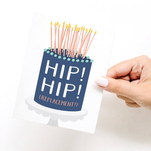 Greeting Card || Hip! Hip! (Replacement)